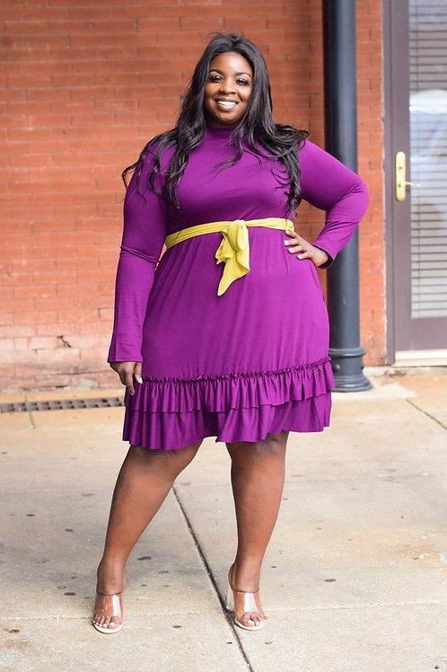 Aubrey   Ruffle Love Dress