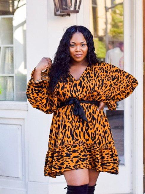 J.Simpson | Leopard Print Dress