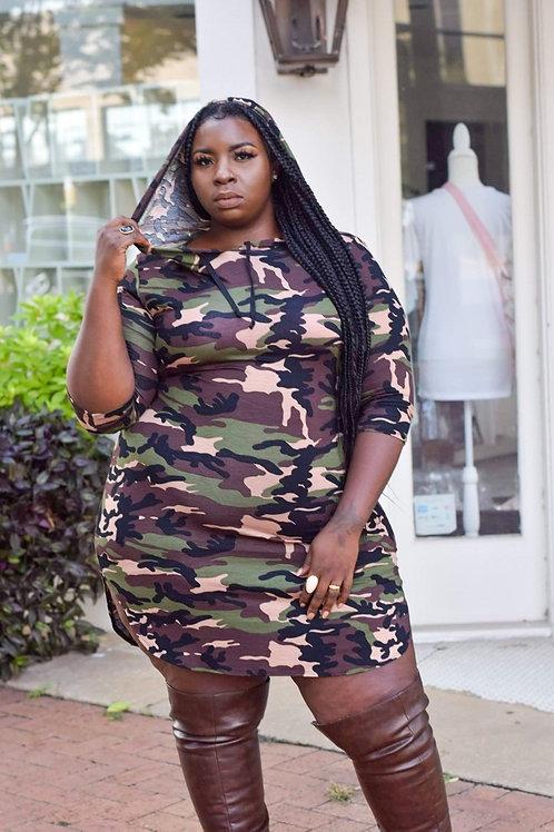 Tonya | Camo Dress