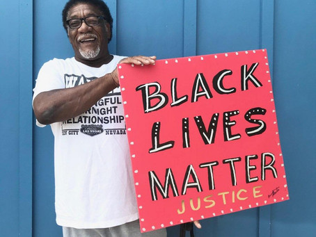 Black Lives Matter Signs: Who is BRUSH MASTER??