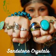 Sandstone Crystals