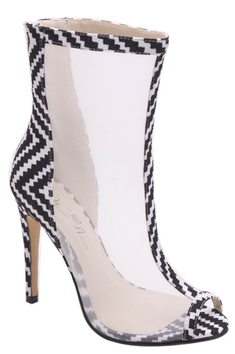 Giselle | Striped Heel