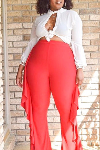 Red Flame Pant