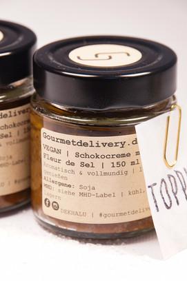 Schokocreme mit Olivenöl & Fleur de Sel
