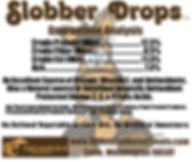 Slobber Drops Guaranteed Analysis