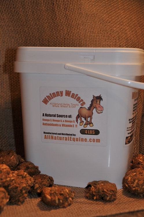 Whinny Wafers 10 Pound Bucket