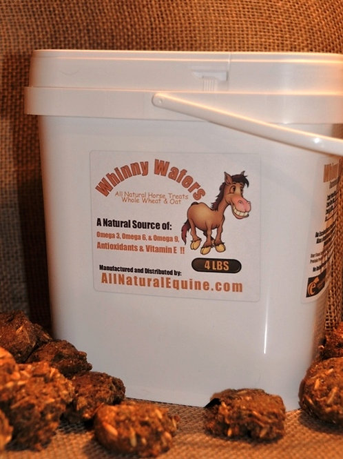 Whinny Wafers 4 Pound Bucket