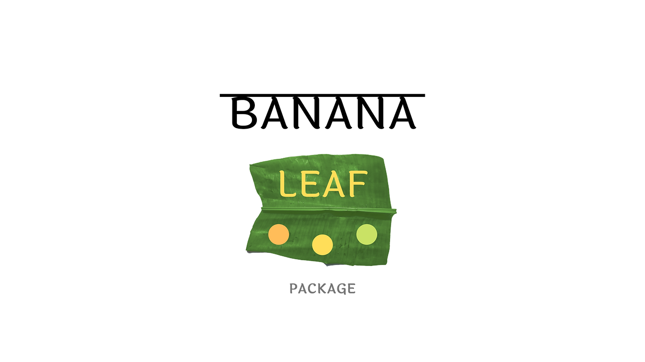 Banana Leaf Package by Cad Design India