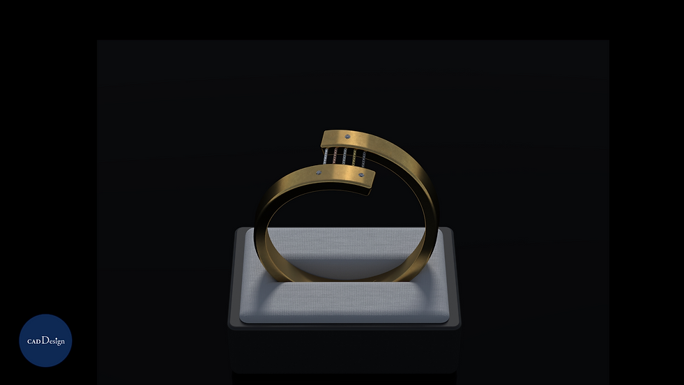 5 Metals Ring by Cad Design India