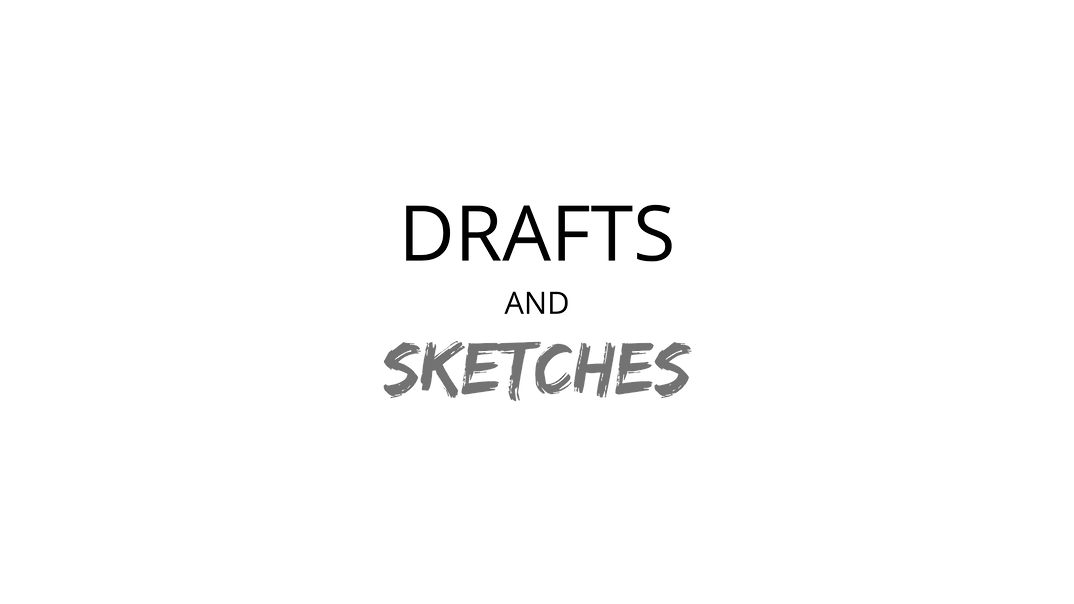 DRAFTS AND SKETCHES by Cad Design India