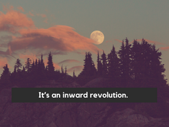 Do you choose to step into an inward revolution with this coming Aquarius Full Moon?