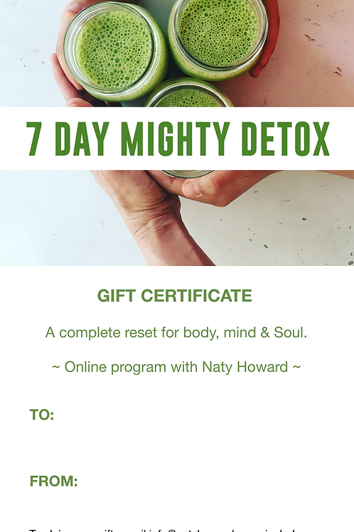 7 Day Mighty Detox