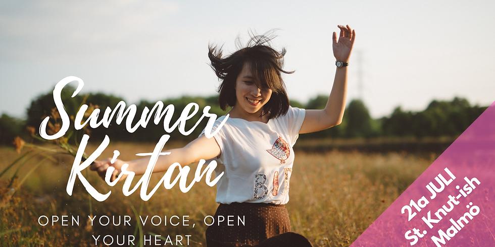 Summer kirtan – FINALLY!