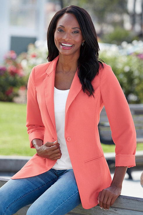 #FUSEFashionMag shares Chadwicks Suit Separates Blazer PERFECT for #TheFUSEWoman #Ageless #Modern #Relevant