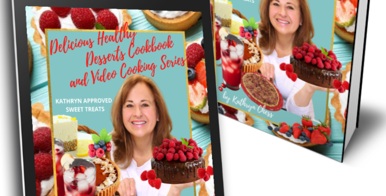DELICIOUS HEALTHY DESSERTS and VIDEO COOKING SERIES