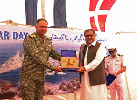 """60th """"Gwadar Day"""" Flag Hoisting Ceremony"""