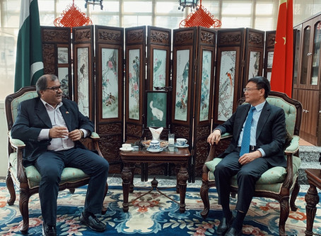 Meeting with Council General of China Mr. Li Bijian
