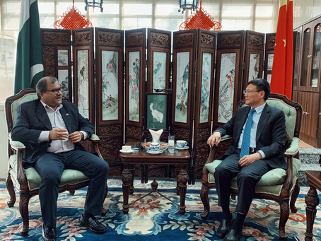 Meeting with Council General of China Mr. Li Bijian