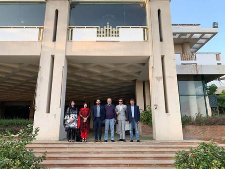 Arabiansea Country Club management invited Gwadar Gymkhana management