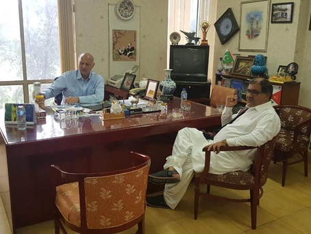 Second phase of CPEC meeting with Senator Mushahid Hussain