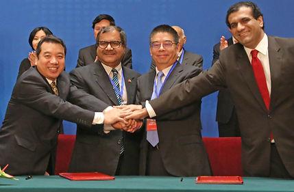 Ahmed Iqbal Baloch, China Economic Net, China Overseas Port Holding Company