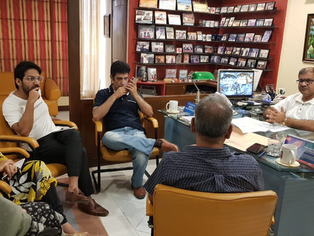 Meeting with GDA Dy. Director