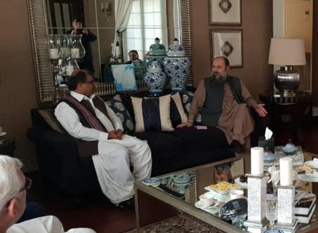 GBDA meeting with CM Balochistan