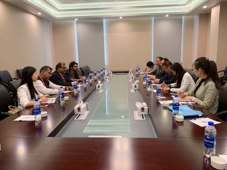 VG meets State Council Information Office China