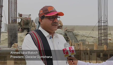 Ahmed Iqbal Baloch talks about the importance of Gwadar Gymkhana