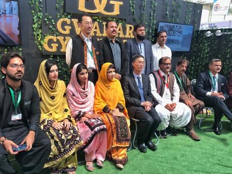 Chinese Ambassador visted Gwadar Gymkhana stall at Gwadar Expo 2019