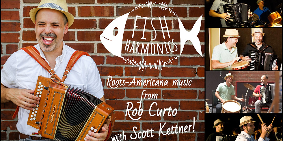 Fish Harmonics: Live in the Parlour @ Fox & Crow!