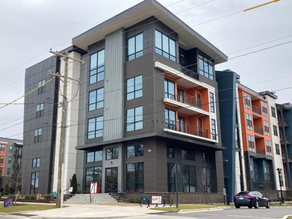 NoDa apartments just completed