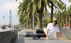 Foam rolling for skateboarders