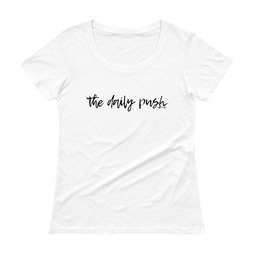 TDP Script Ladies' Scoopneck T-Shirt