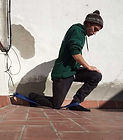 Warm up for skateboarding