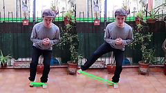 skateboard core workout