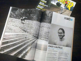 Enzo Cautela & his mum | a pro-skater and a pro-nutritionist