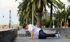 Ankle stretches for skateboarding