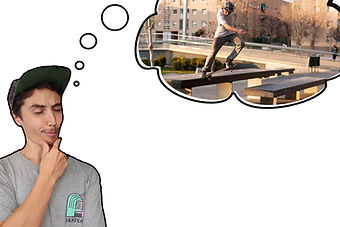 mental imagery and visualisation for skateboarding