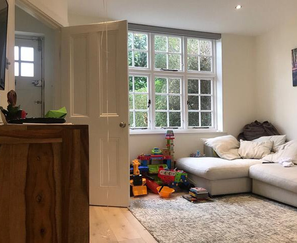 Image of living space before- Client in North London