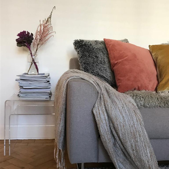 Habitat Sofa with cosy cushions