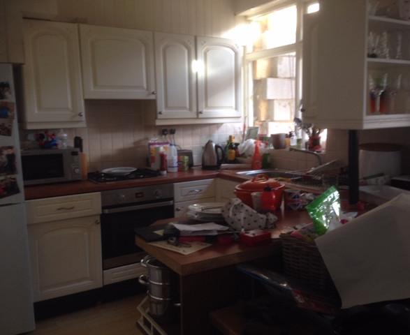 Image before kitchen renovation