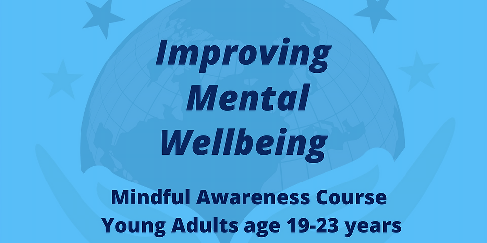 Mindfulness Course For Young Adults - 19-23 years