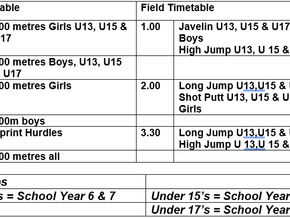 OPEN YOUNG ATHLETES TRIALS