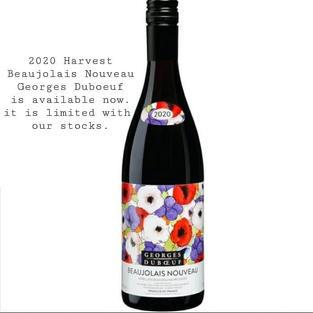 Beaujolais Nouveau 2020 harvest