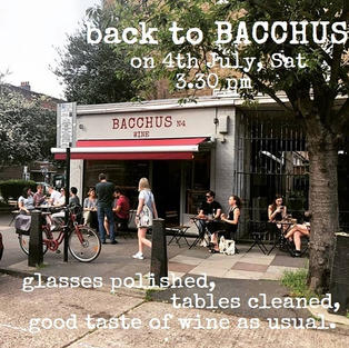 Back to BacchusN4 on 4th July, Saturday