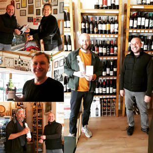 Covid Heroes got their Free Wines