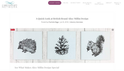 Alice Millin Design Card and Gift