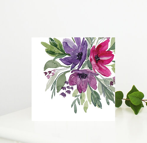 Buds & Blooms Card