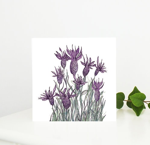 Lavender Greetings Card